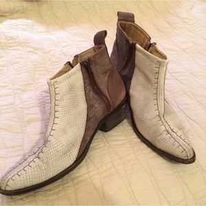 Shoes - Free people leather booties